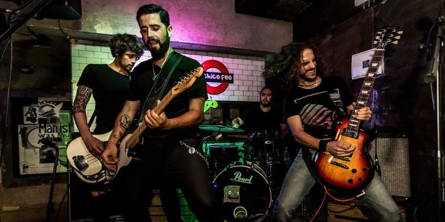Els integrants d'aquesta banda de rock alternatiu de Madrid
