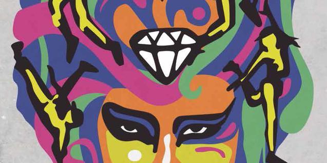 El dibuix d'una dona amb un diamant al front al cartell de l'edició d'enguany