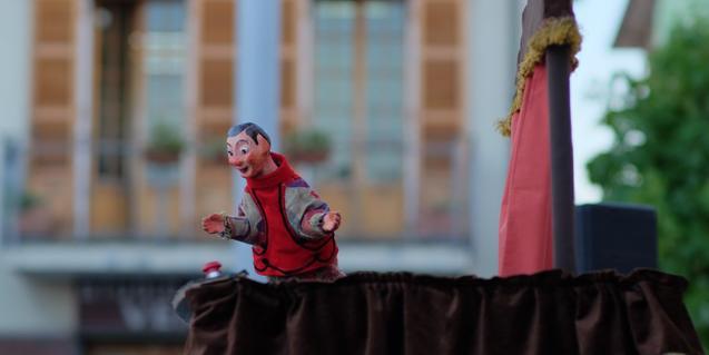 Fotografia d'un titella de l'espectacle