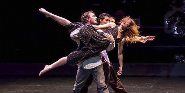 Un moment de l'espectacle de dansa de Sabine Dahrendorf