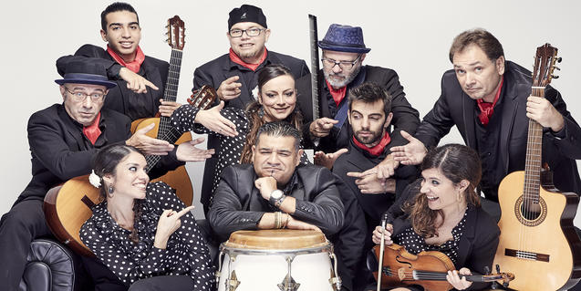 El grup barceloní Sabor de Gràcia