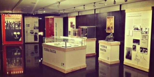 Una de les sales del Museu de les Arts Escèniques