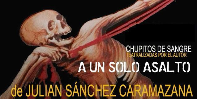 La imatge d'un esquelet ilustra el cartell que anuncia aquest muntatge teatral