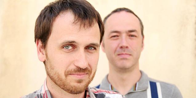 Sanjosex i Carles Belda pujaran plegats a l'escenari en el cicle 'Connexions'