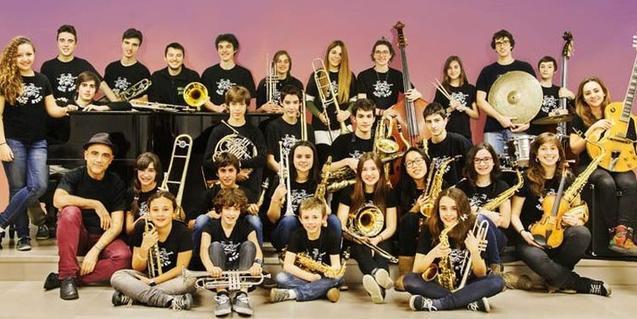 Components de la Sant Andreu Jazz Band