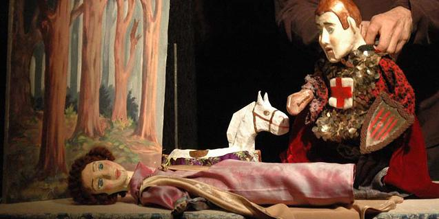 La llegenda de Sant Jordi, en la versió de La Puntual.