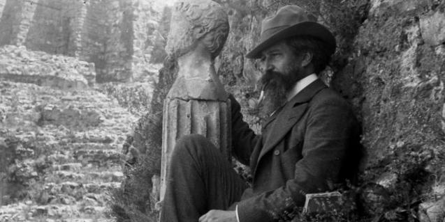 Una imatge del pintor i dramaturg Santiago Rusiñol