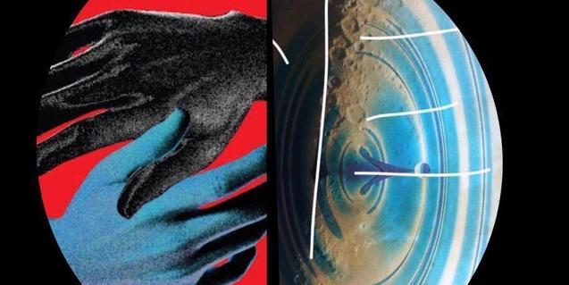 La imatges de dues mans entrellaçades serveix per anunciar el concert