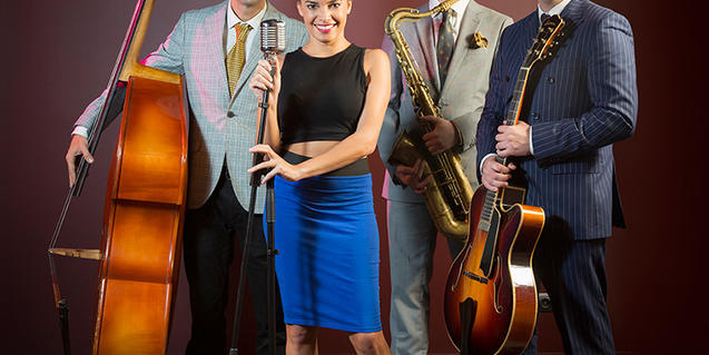 Saphie Wells & The Swing Cats