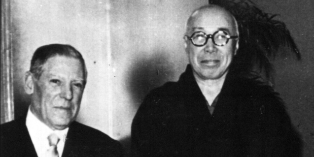 Josep Llorens Artigas i Hamada Shōji