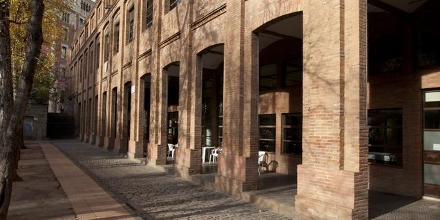 El Centro Cívico la Sedeta, en Gràcia, uno de los 52 que hay en la ciudad