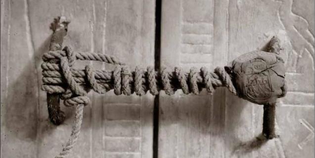 Segell de la tomba de Tutankhamon