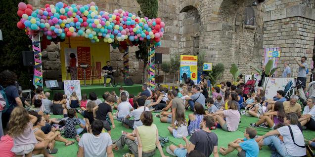 Una imatge de la Setmana del Llibre Català 2018.