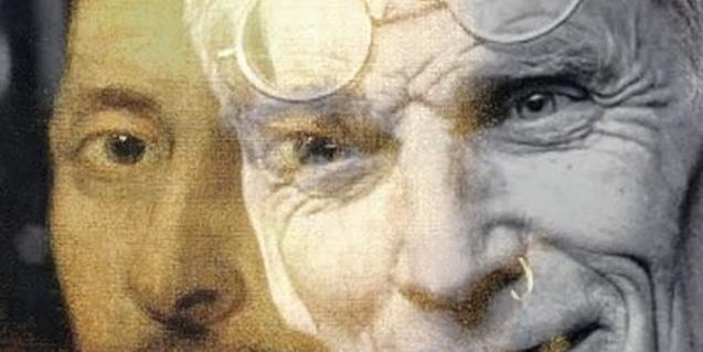 Detalle del cartel de la obra Shakespeare i Beckett. Maleïts bessons...