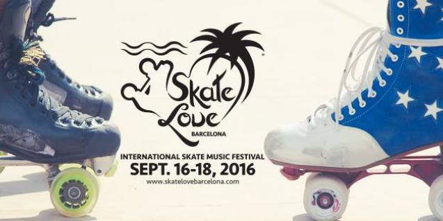 El cartel del festival Skate Love