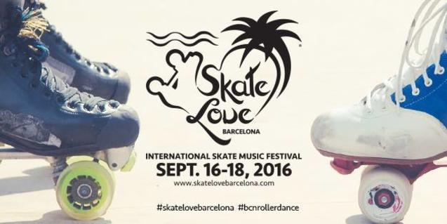 El cartell de l'Skate Love Festival d'enguany