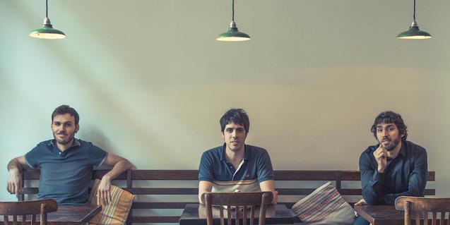 Els components de la banda d'indie rock barcelonina