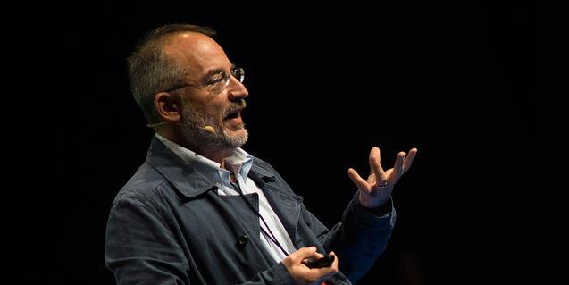 Retrato del científico Stefano Mancuso que protagoniza un video sobre neurobiologia vegetal que encontraréis en la web del CCCB