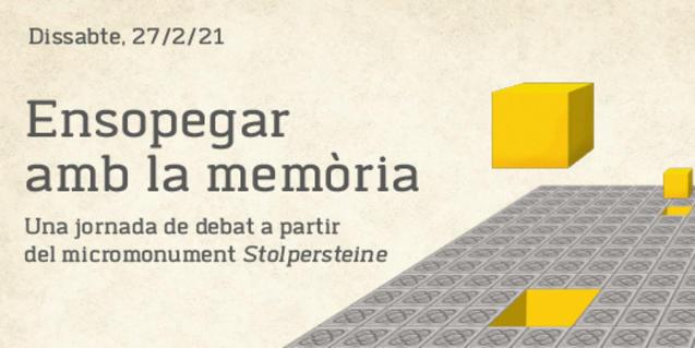 Jornada Stolpersteine 'Ensopegar amb la memòria'