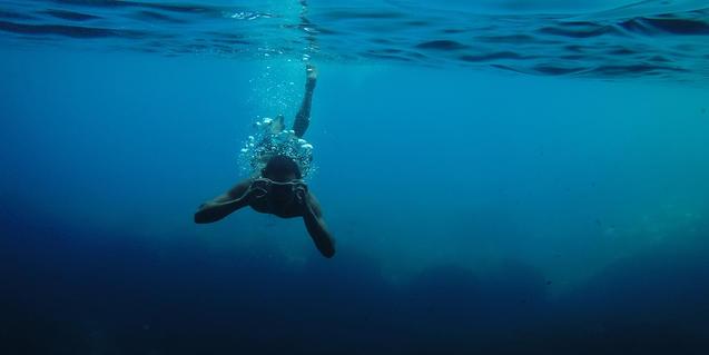 Imagen de un submarinista