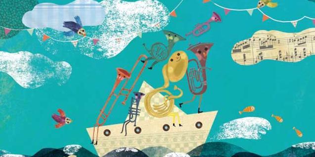 Cartel ilustrado del taller