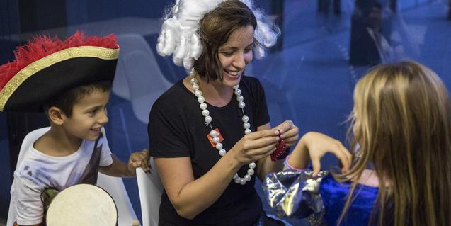 Fotografia de participants del taller de taller. Fotografia de Pere Virgili
