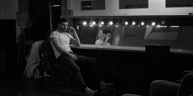 'Un obús al cor', en el Teatro Biblioteca de Catalunya