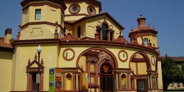 Seu del Teatre Lliure a Montjuïc, on es farà la festa