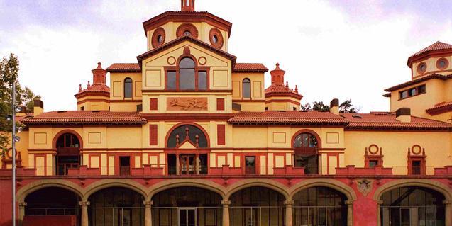 Imagen exterior del Teatre Lliure de Montjuïc