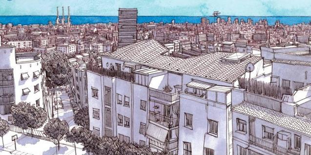 Un dels dibuixos que s'exposen a la mostra
