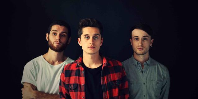 Los tres componentes de la banda británica
