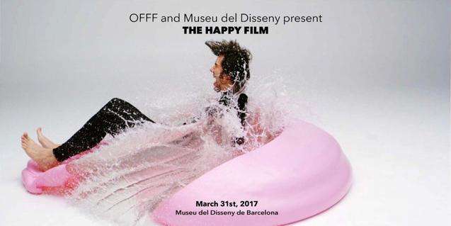 El cartell que anuncia el film mostra un home sobre una mena de matalàs, esquitxat d'aigua