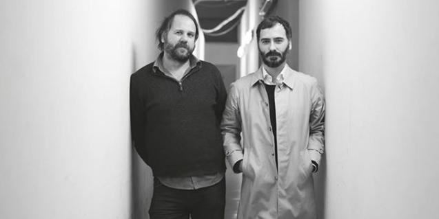 Un retrat dels músics Ramón Rodríguez i Ricardo Lezón