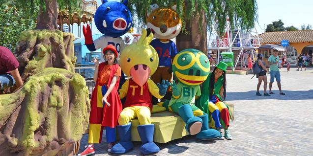 Les Mascotes del Tibidabo.