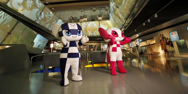 Les mascotes dels Jocs són a Barcelona.