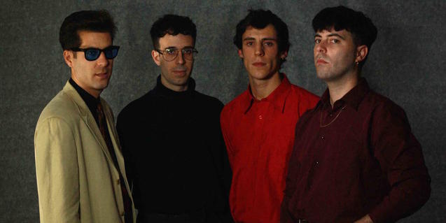 Los componentes de la banda de pop El Último Vecino