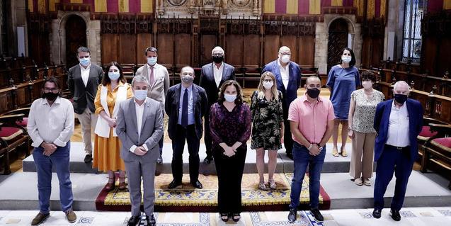 Acte de presentació del Pacte per Barcelona