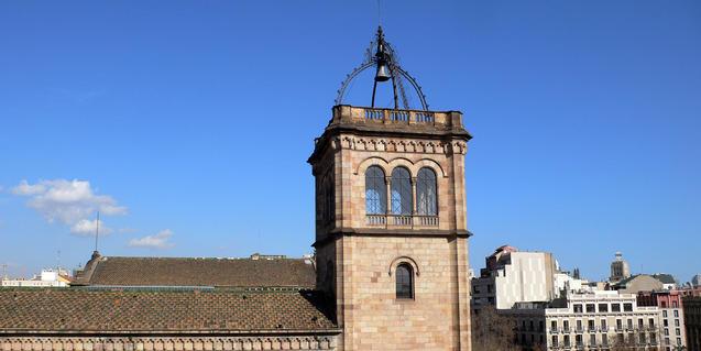 Imagen del edificio histórico de la UB