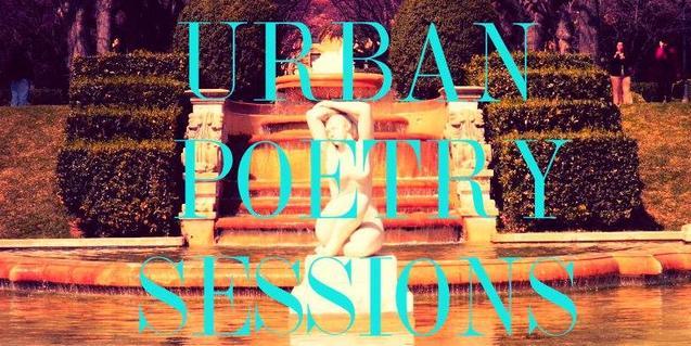 Cartel que anuncia el encuentro de poesía urbana