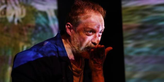El actor Jaume Garcia Arija como Van Gogh