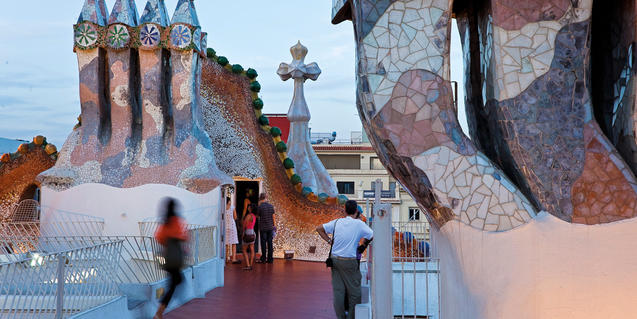 The Musical Apéritifs on the roof of Casa Batlló this October