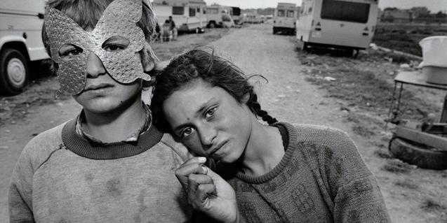Una de las fotografías de la exposición de Mary Ellen Mark