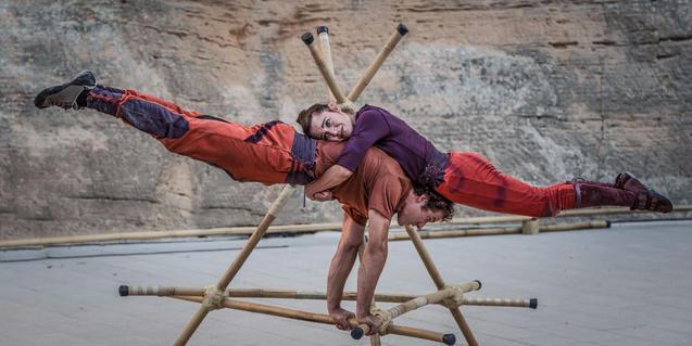 Un momento del premiado espectáculo de circo 'Vincles'