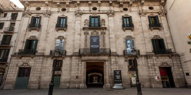 Fachada edificio del Palau de La Virreina
