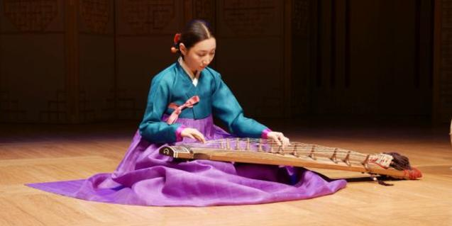 """Image of the """"Eolssigu! The Sounds of Korea"""" exhibition."""