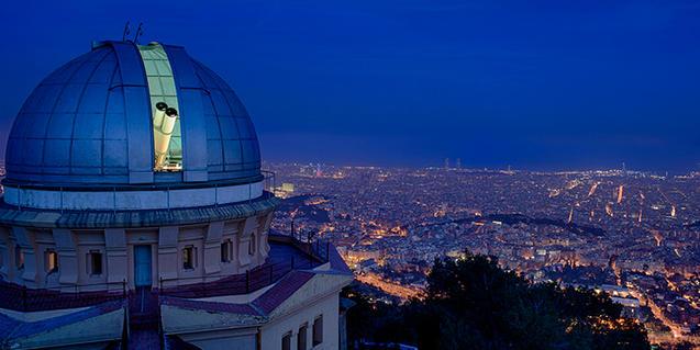 Cúpula de l'Observatori Fabra