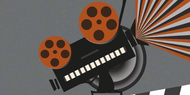 El cartel de este año muestra un proyector de cine en funcionamiento