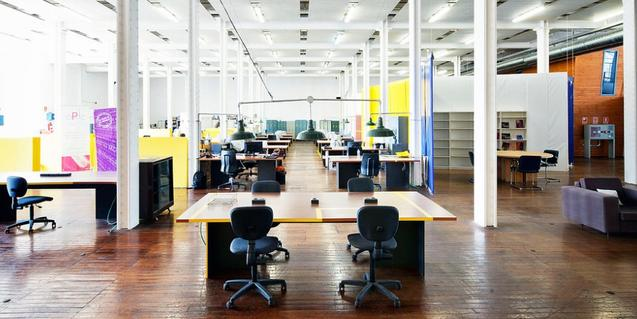 Vista de las instalaciones de la fábrica de creación