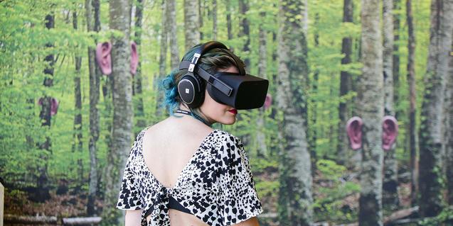 La realidad virtual y la realidad aumentada son dos de los temas principales de los últimos Sónar+D