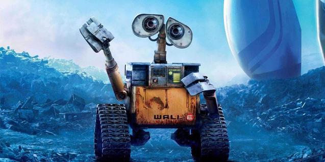 Una imatge del film 'WALL-E'